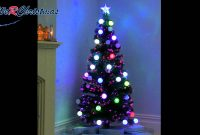 5 Ft Pre Lit Fibre Optic Christmas Tree With Flashing Led Ball with dimensions 1920 X 1080