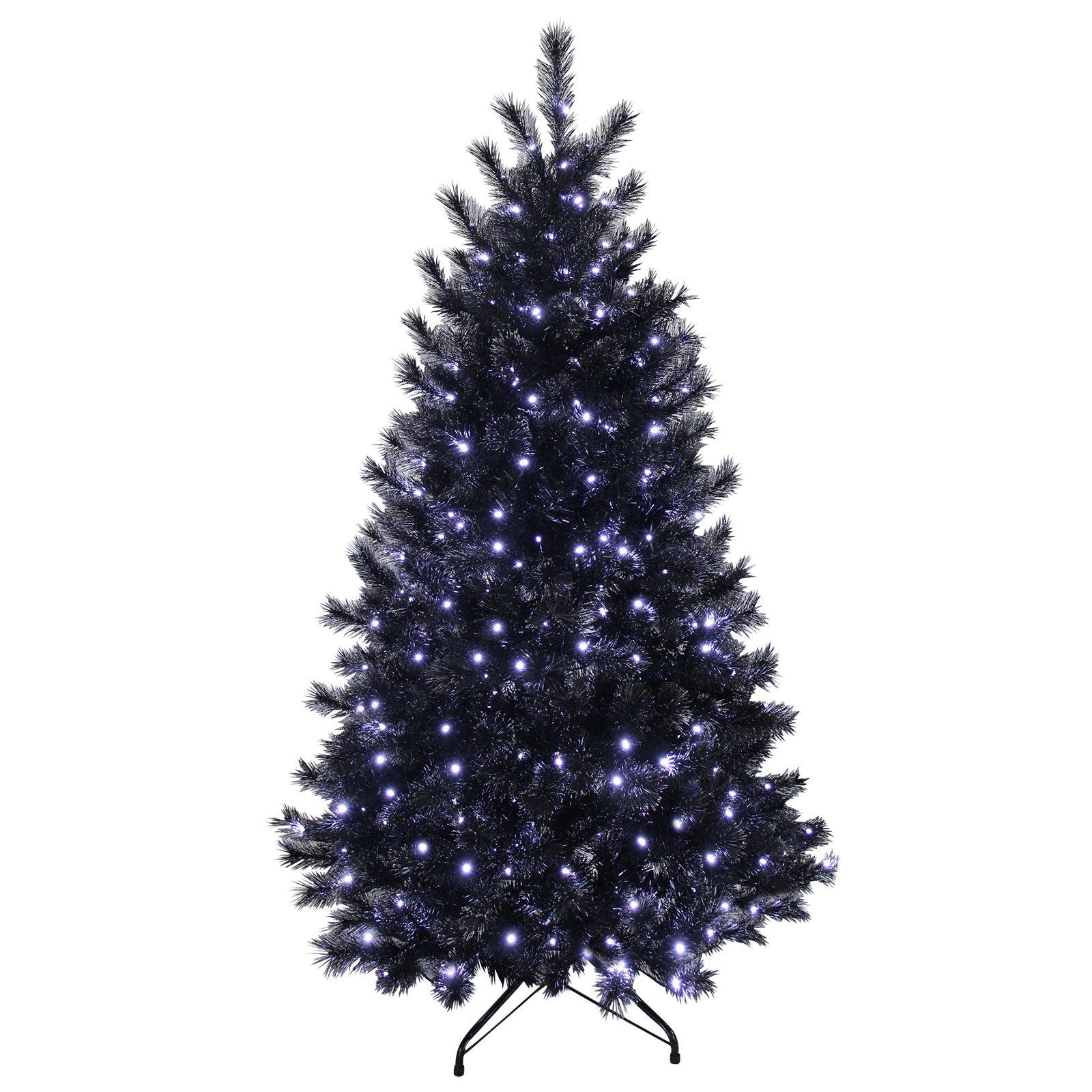 7ft Black Pre Lit Christmas Tree: 6ft Christmas Tree With Lights • Christmas Lights Ideas