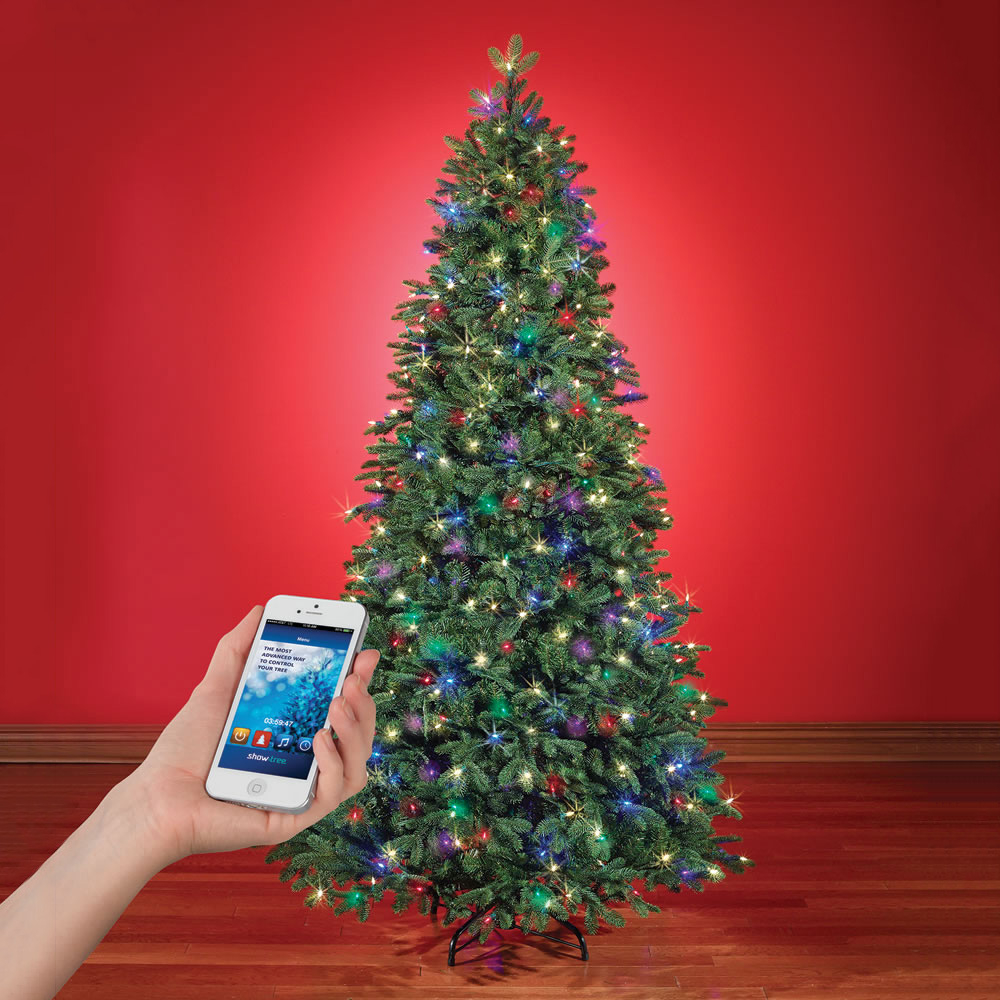 App Controlled Music And Light Show Christmas Tree The Green Head intended for size 1000 X 1000