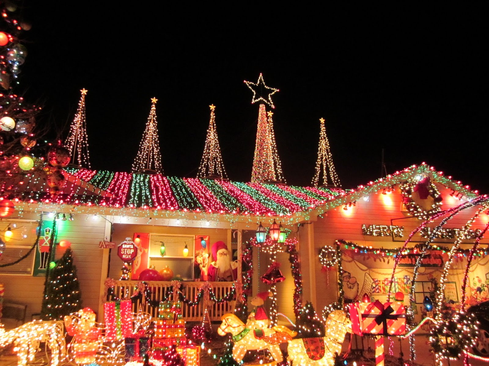 Christmas In Houston Christmas Lights Events Zoo Installation intended for size 1600 X 1200