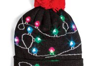 Decked Out Christmas Light Up Hat with measurements 1000 X 1000