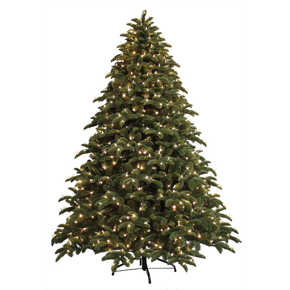 Ge 75 Ft Just Cut Noble Fir Ez Light Artificial Christmas Tree with proportions 1000 X 1000