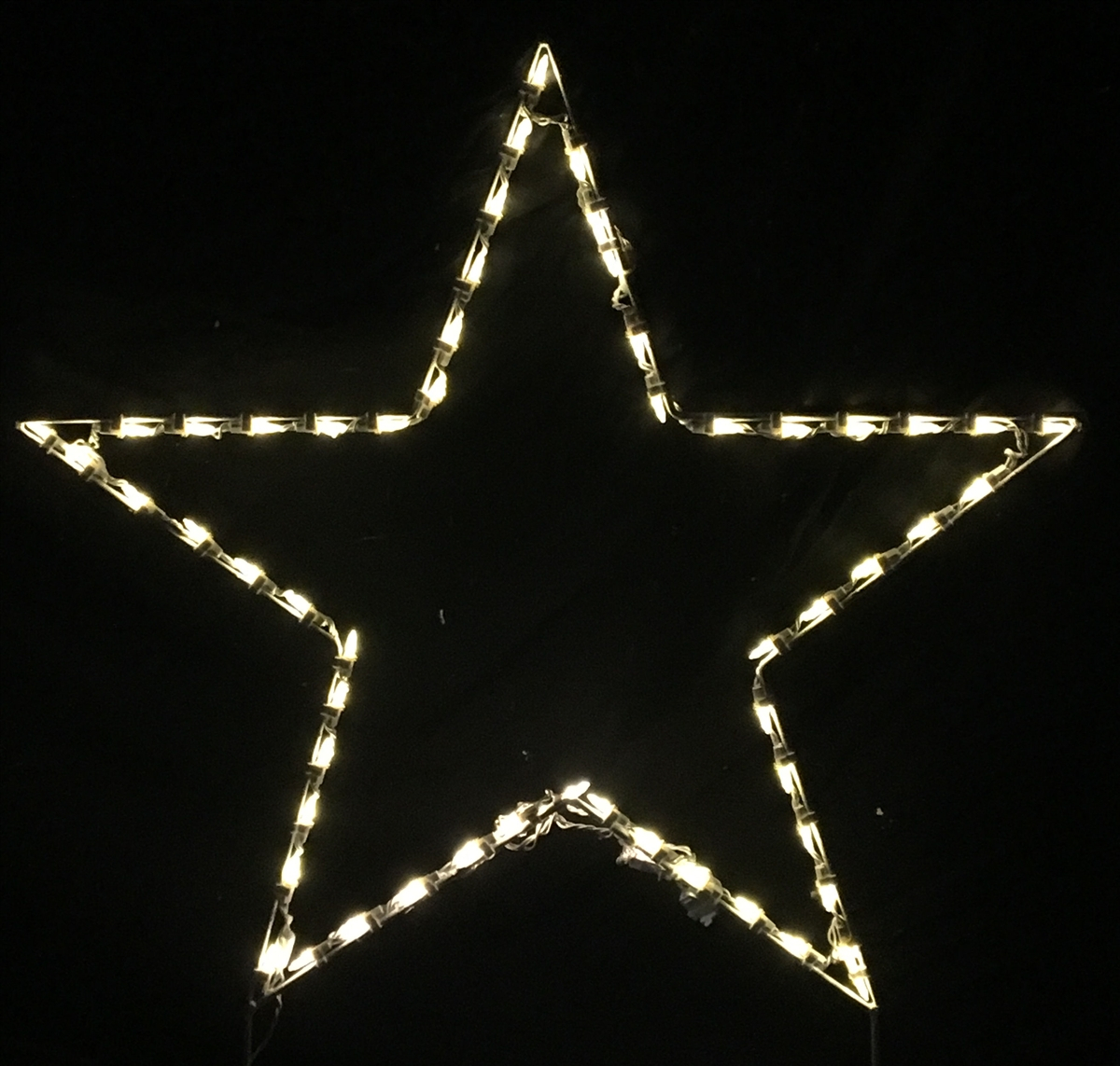 Lighted Outdoor Decorations Lighted Star Decorations within proportions 1200 X 1143