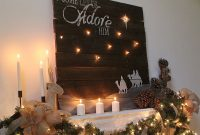 Lighted Reclaimed Lumber Christmas Sign Tutorial The Kim Six Fix throughout size 960 X 1080