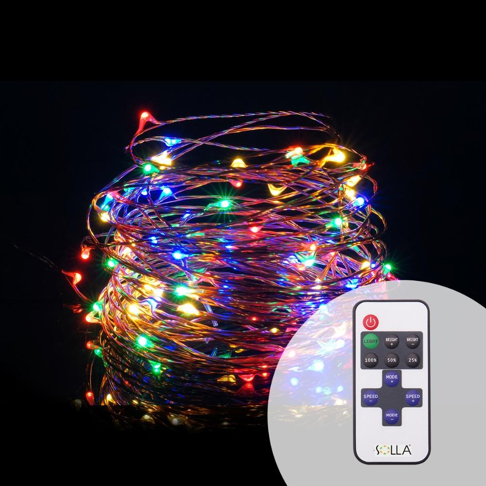 Wholesale 10m 33ft 100 Led Usb Outdoor Led Copper Wire String Lights with dimensions 1000 X 1000